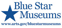 Picture of Blue Star Museums logo for discounts for active military