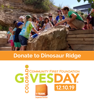 Donate to Dinosaur Ridge