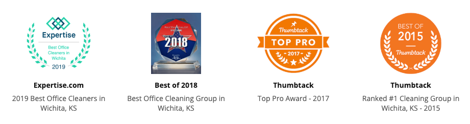 awards in wichita for commercial cleaning