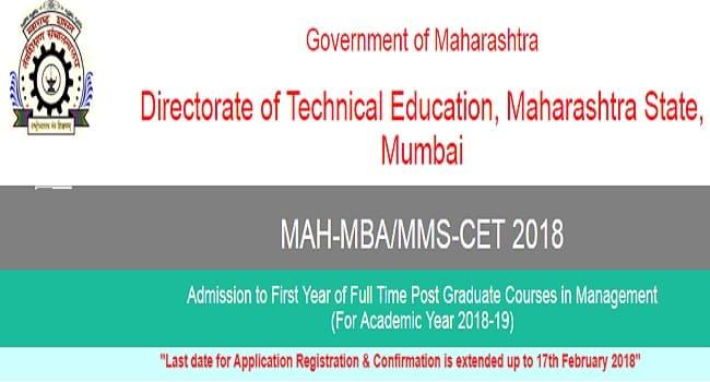 MBA CET Hall Ticket
