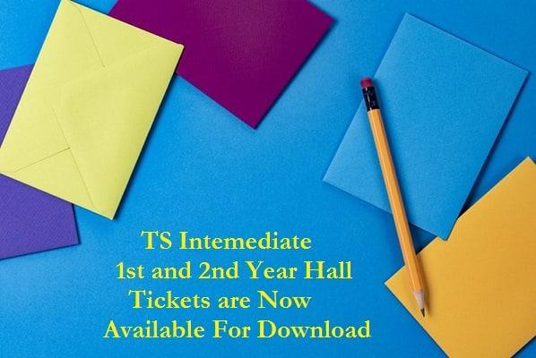 TS Intermediate Hall Tickets