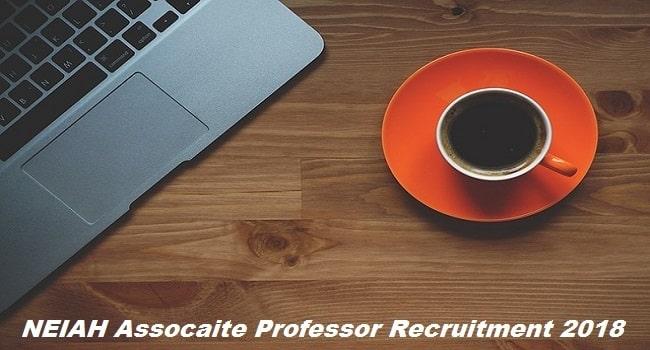 NEIAH Associate Professor Recruitment 2018