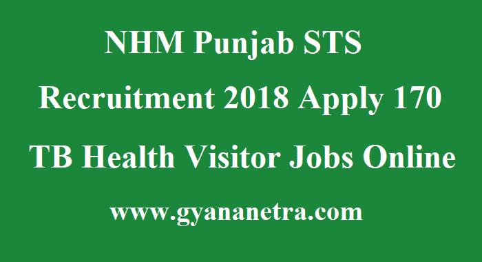 NHM Punjab STS Recruitment