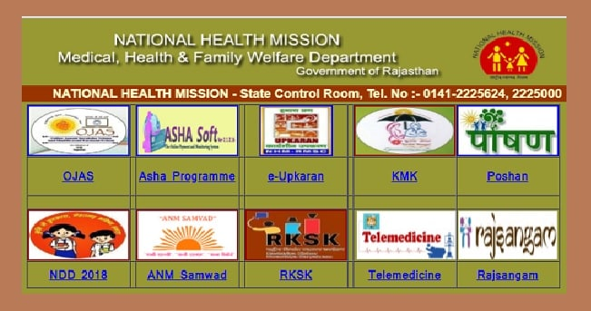 NHM Rajasthan Medical Officer Admit Card