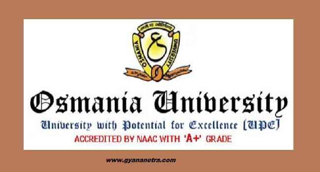 Osmania University Btech Results