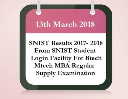 SNIST Results