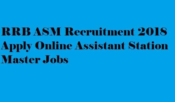 RRB ASM Recruitment