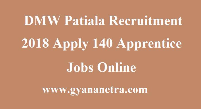 DMW Patiala Recruitment