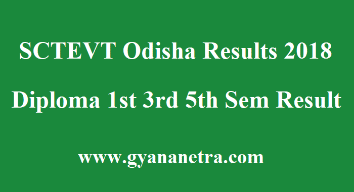 SCTEVT Odisha Results
