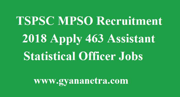 TSPSC MPSO Recruitment