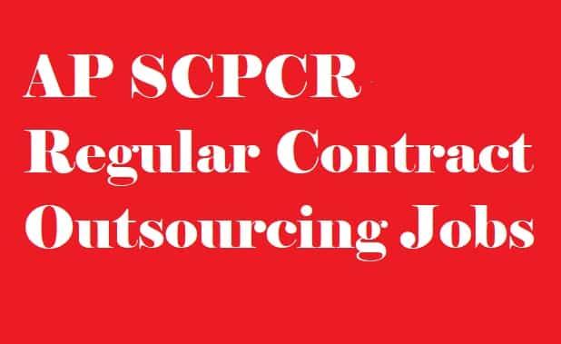 AP SCPCR Recruitment 2018