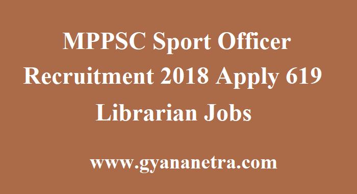 MPPSC Sports Officer Recruitment