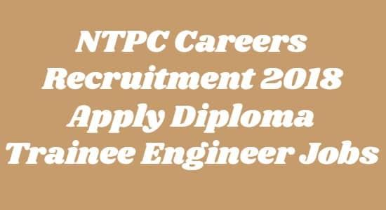 NTPC Careers Recruitment