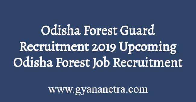 Odisha Forest Guard Recruitment 2019
