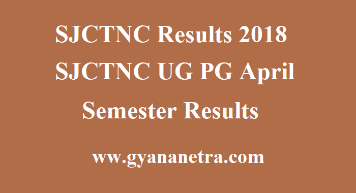 SJCTNC Results