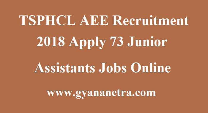 TSPHCL AEE Recruitment