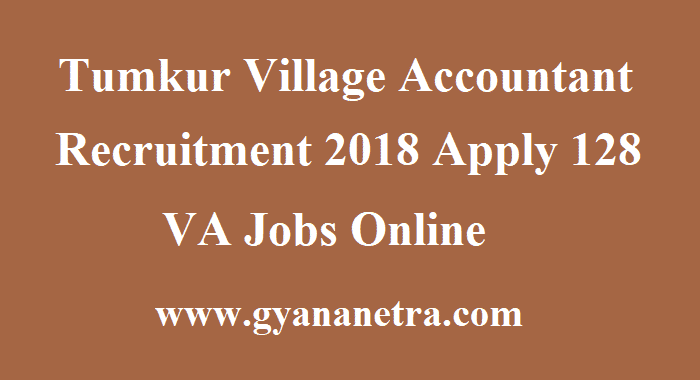 Tumkur Village Accountant Recruitment