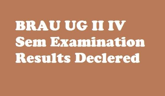 Manabadi DR BR Ambedkar University Srikakulam Degree Results 2018