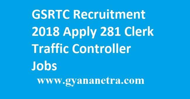 GSRTC Recruitment 2018