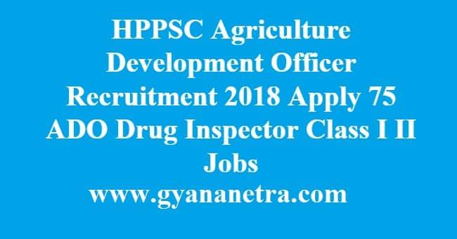 HPPSC Agriculture Development Officer Recruitment