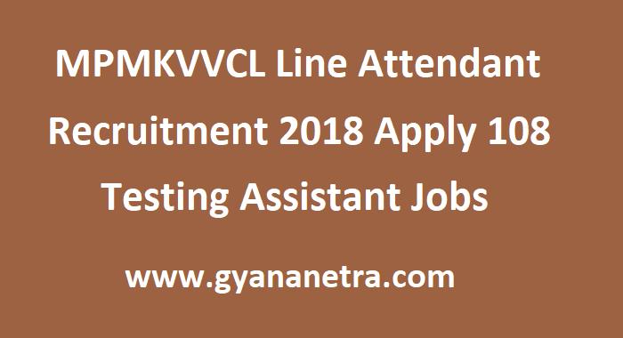MPMKVVCL Line Attendant Recruitment