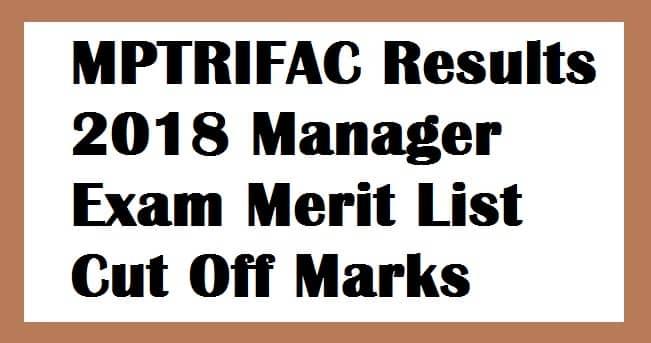 MPTRIFAC Results