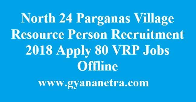 North 24 Parganas Village Resource Person Recruitment