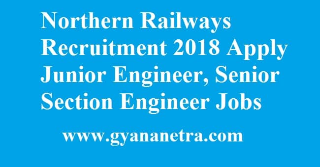 Northern Railways Recruitment