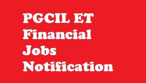 PGCIL Executive Trainee Recruitment