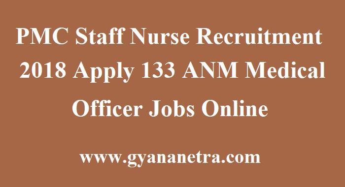 PMC Staff Nurse Recruitment