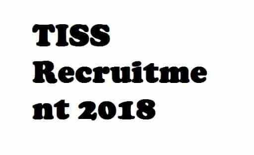 TISS Research Interns Recruitment 2018