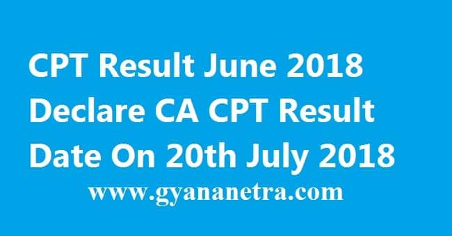 CPT Result June