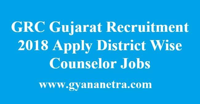 GRC Gujarat Recruitment