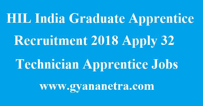 HIL India Graduate Apprentice Recruitment