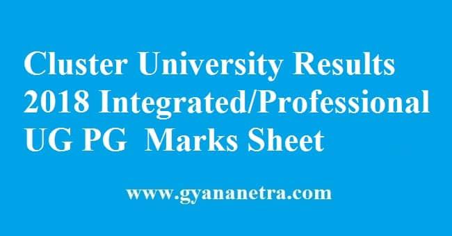 Cluster University Srinagar Results