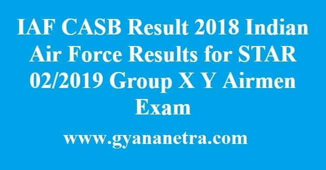 IAF CASB Result