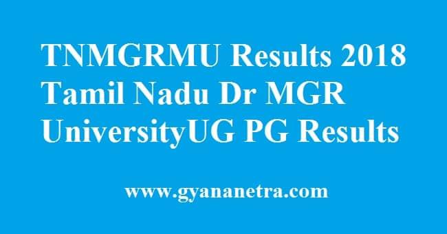 TNMGRMU Results