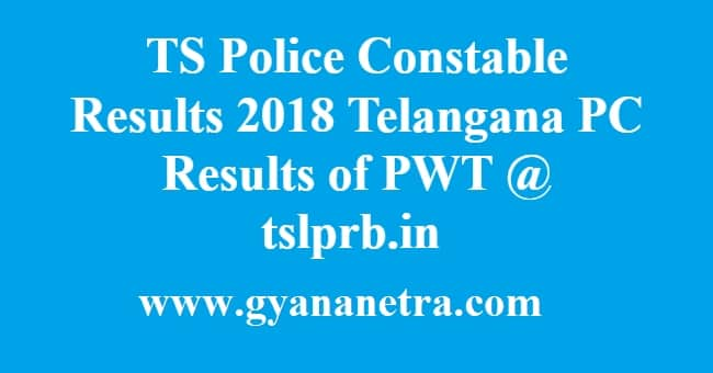 TS Police Constable Results