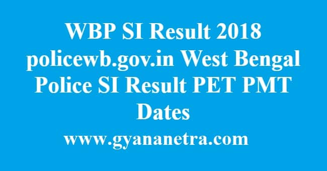 WBP SI Result