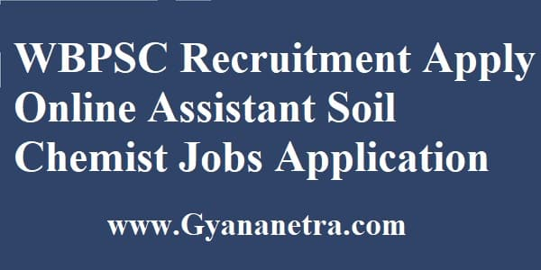 WBPSC Recruitment Apply Online