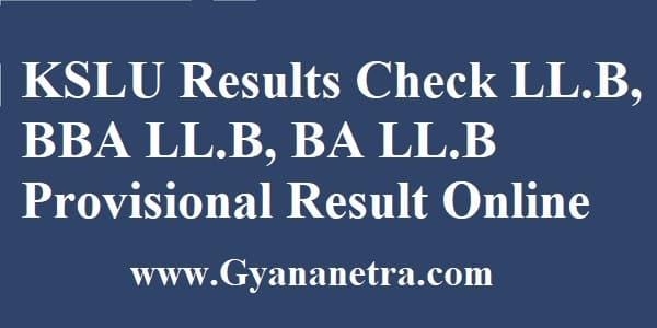 KSLU Results Check