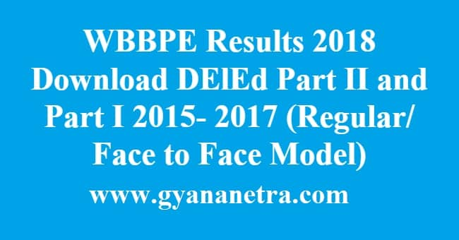 WBBPE Results