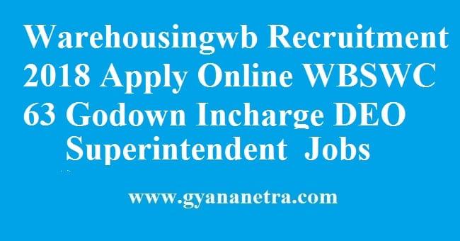 Warehousingwb Recruitment