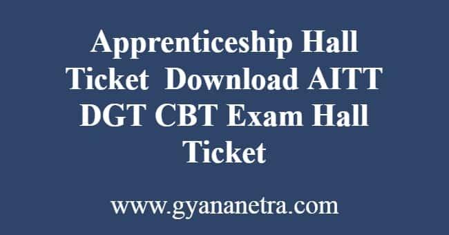 Apprenticeship Hall Ticket