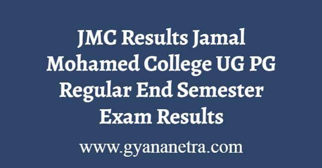 JMC Results