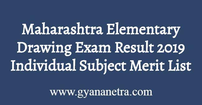 Maharashtra Elementary Drawing Exam Result
