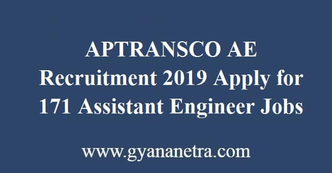 APTRANSCO AE Recruitment