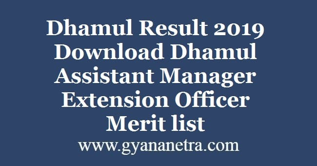 Dhamul Result