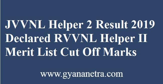 JVVNL Helper 2 Result