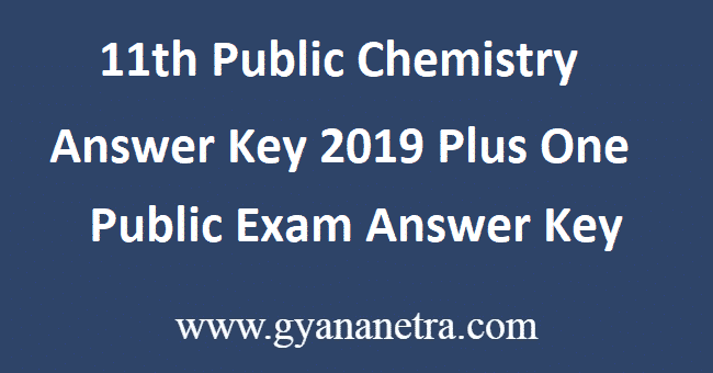 11th-Public-Chemistry-Answer-Key